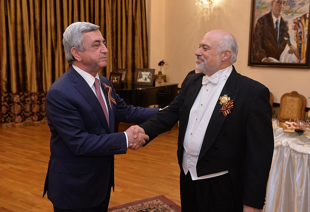 Constantine Orbelian Receives Armenian Order of Friendship