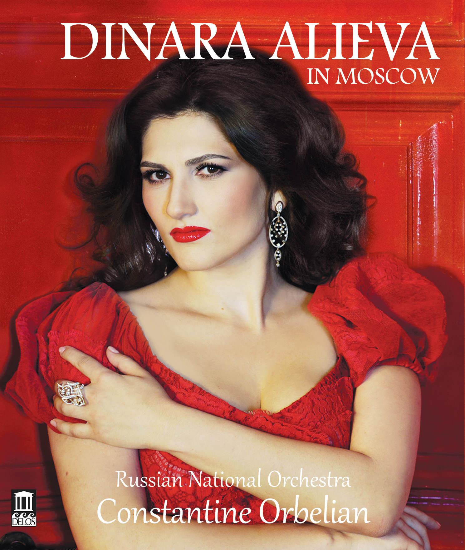 Dinara Alieva in Moscow