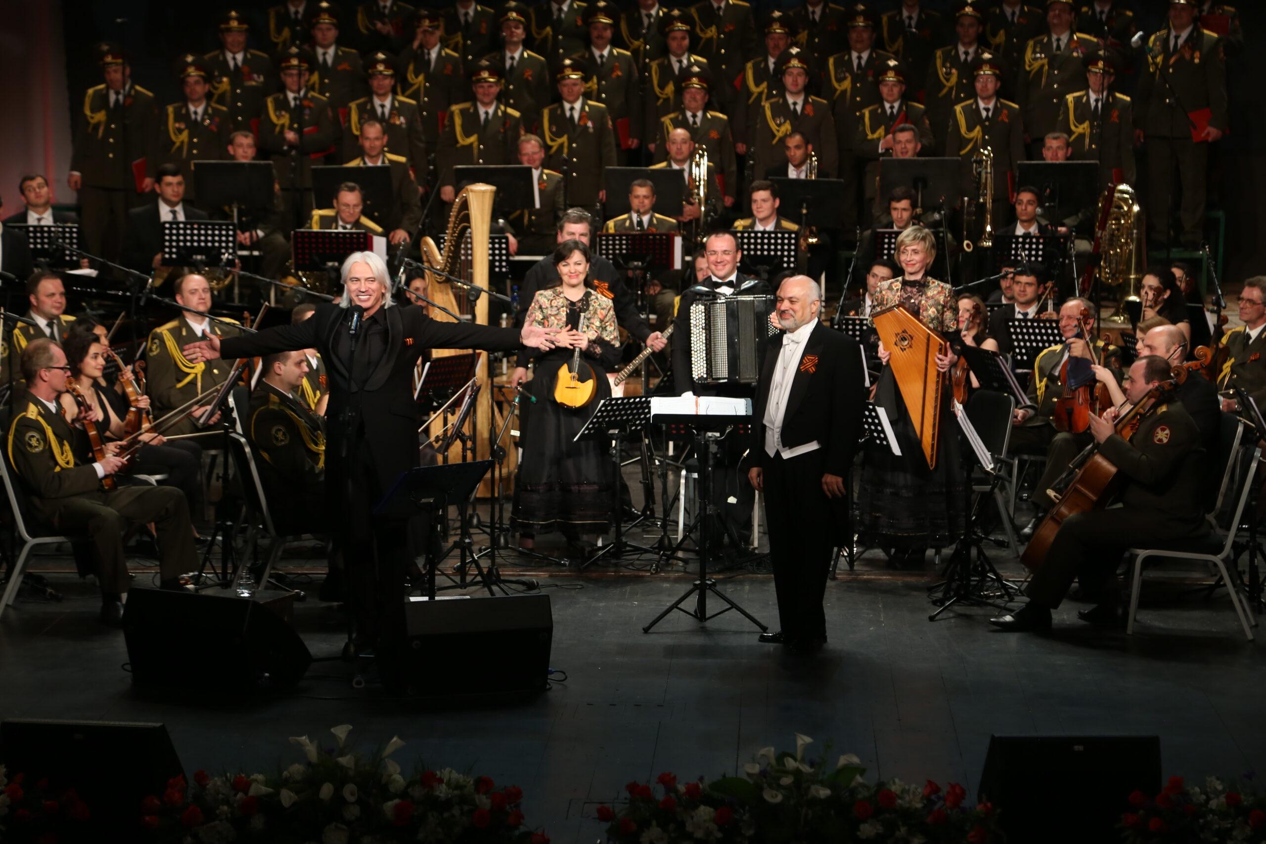 Constantine Orbelian and Dmitri Hvorostovsky at Yerevan Opera House in 2015